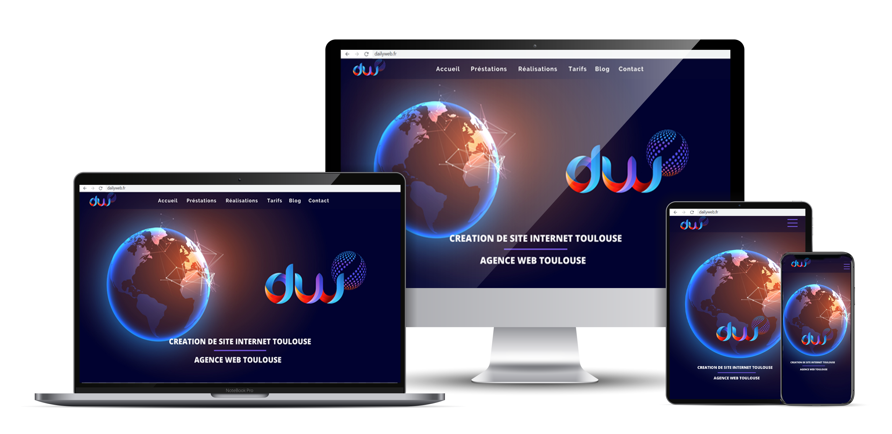 Agence creation de site internet Toulouse - Dailyweb