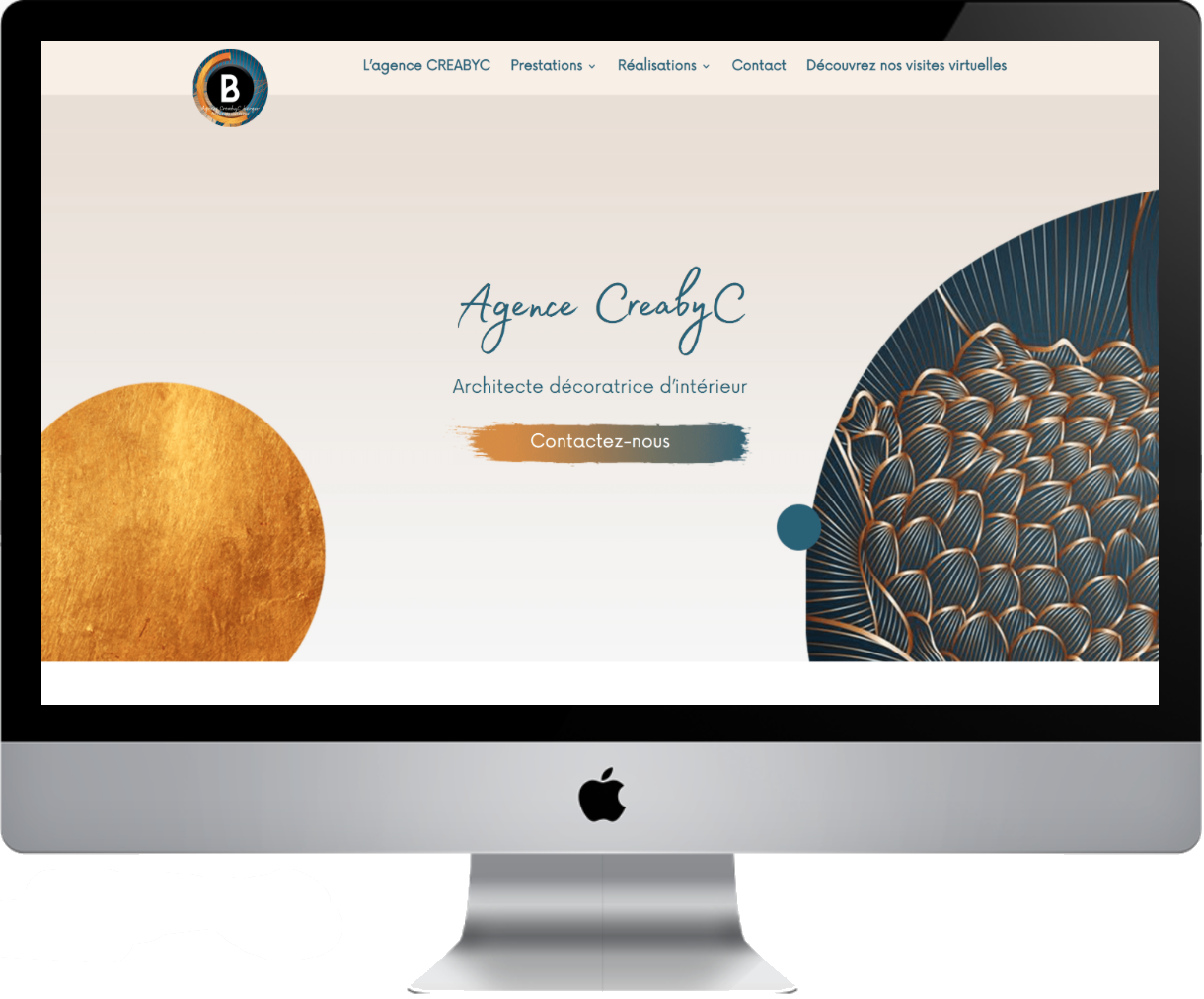Création site internet décoratrice Castelnaudary | CreabyC