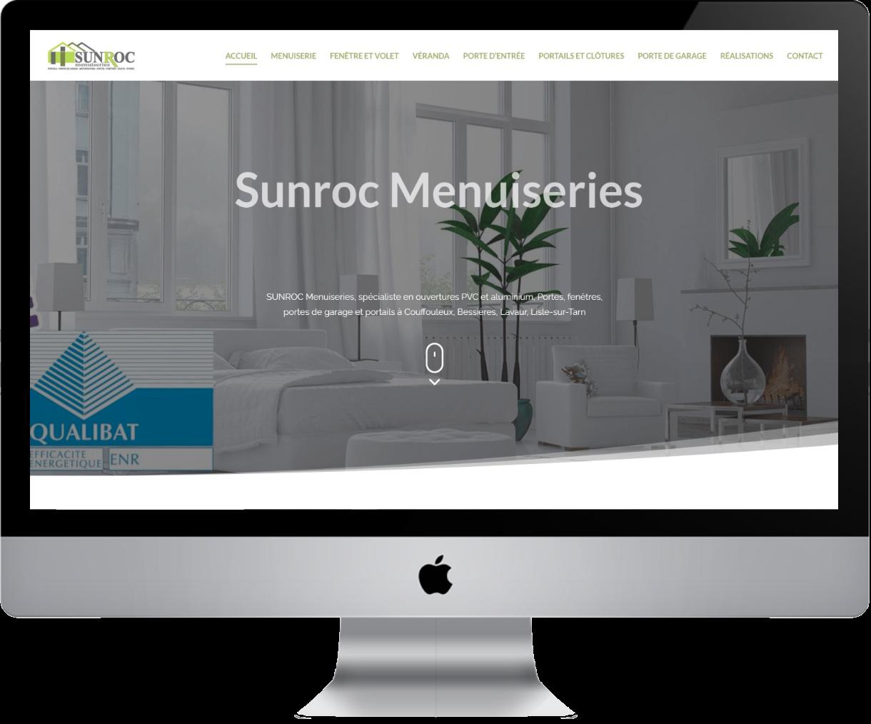 Conception site menuisier Castelnaudary | Sunroc Menuiseries